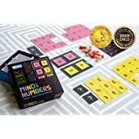 Kitki Mind Your Numbers Math Game Stem Puzzles for Kids, 8+ Years, (Multicolour)