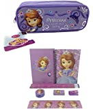 Disney Princess Sofia the First Combo Stationary Set + Pencil Pouch