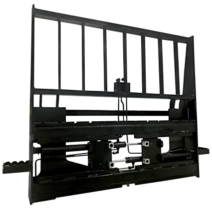 Titan Adjustable Hydraulic Skid Steer Pallet Fork Frame