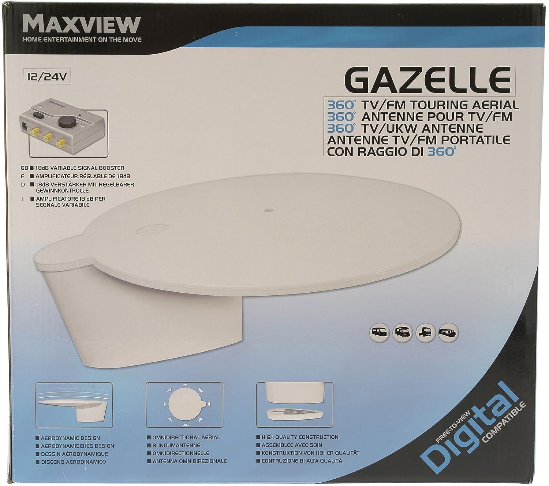 MAXVIEW-Rundumantenne Gazelle für TV und UKW