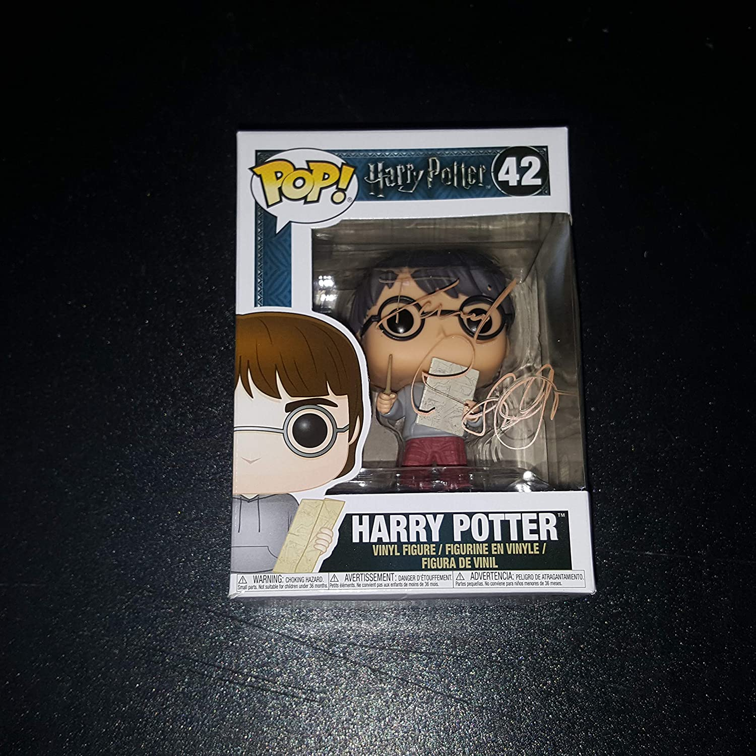 Daniel Radcliffe - Autographed Signed HARRY POTTER FUNKO POP 42 Vinyl Figure COA