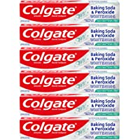 Colgate Baking Soda and Peroxide Whitening Toothpaste, Frosty Mint - 6 ounce (6...