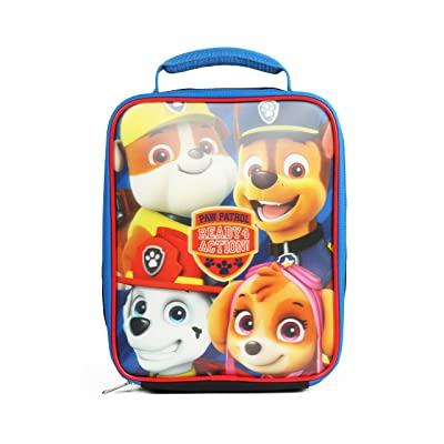 Nickelodeon Paw Patrol Ready for Action Blue Insulated Lunch Kit: Kitchen & Dining