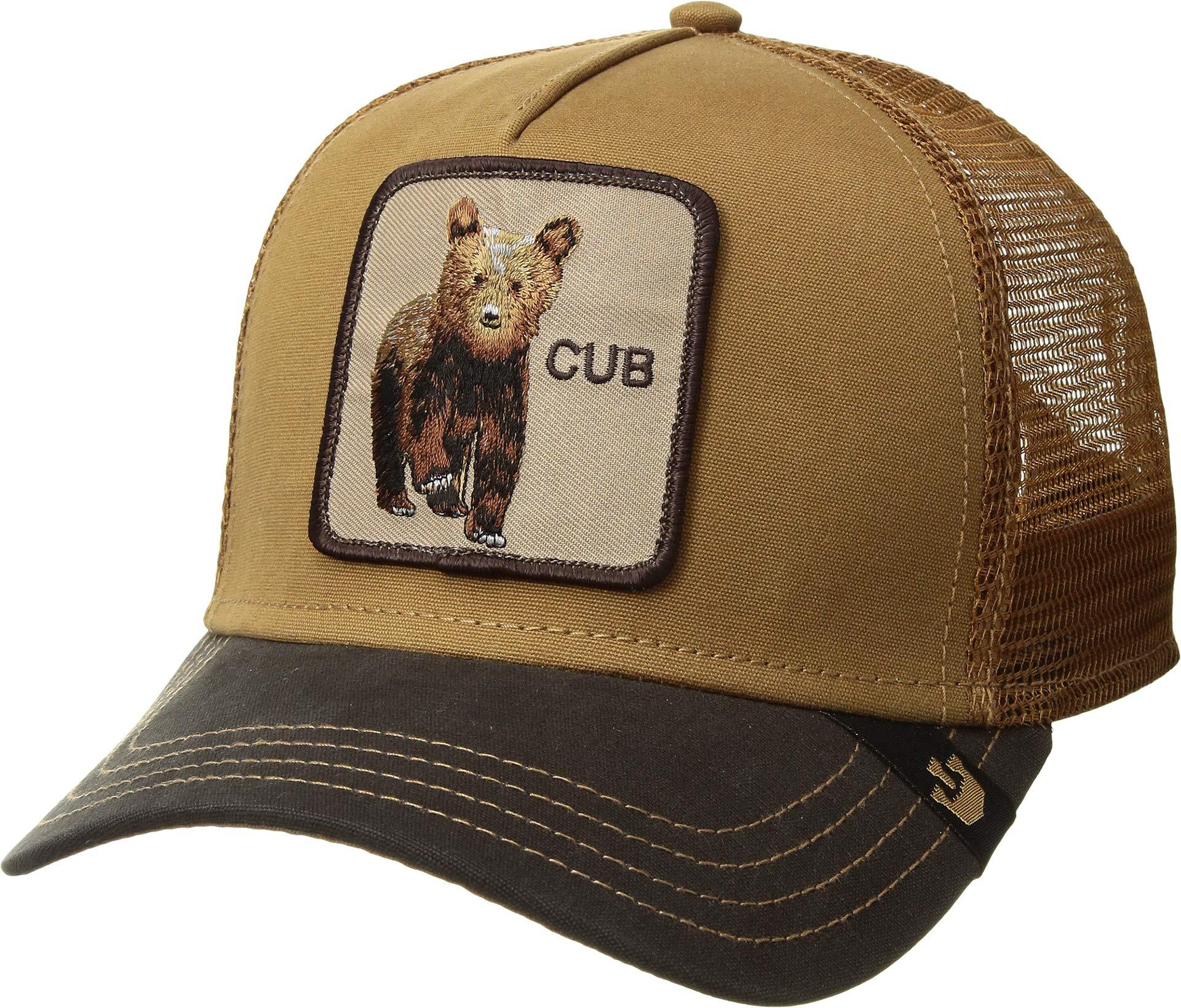 230f5cd6c07b5c Galleon - Goorin Bros. Men's Animal Farm Trucker Hat, Brown Cub One Size