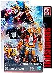 Figura Transformers Gen Power Of Primes Wreck-Gar - E2471 Laranja, Vermelho, Azul e Amarelo