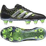adidas Performance Mens Adipower Kakari Soft Ground Rugby Training Boots - Black