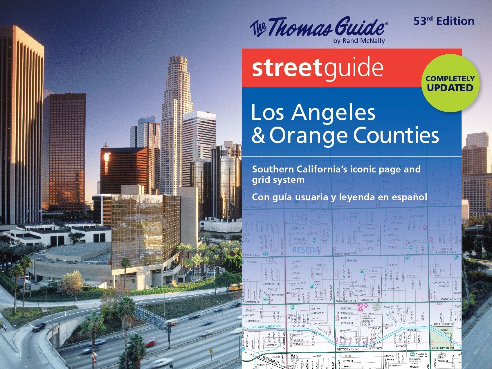 Thomas Guide Maps Thomas Guide Streetguide Los Angeles & Orange County: Southern