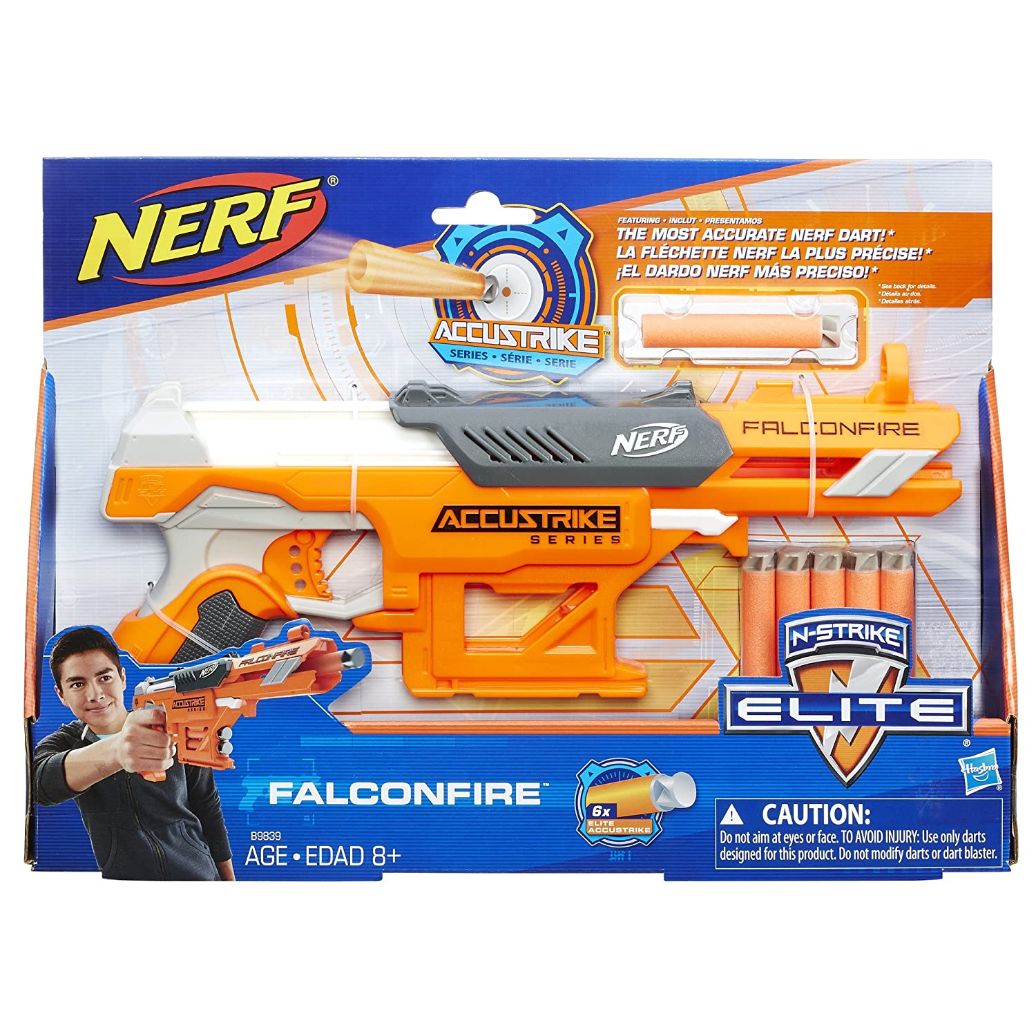 Amazon Nerf N Strike Elite AccuStrike Series FalconFire Toys & Games