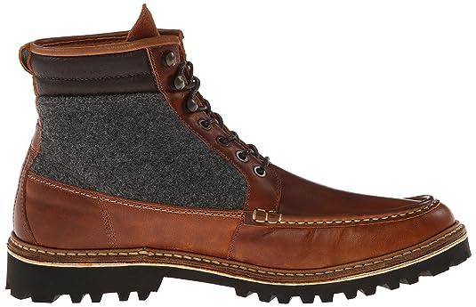 9eb1fbe527e Wolverine 1883 Men's Ricardo Moc Toe Hiker Winter Boot, Brown, 7.5 M ...