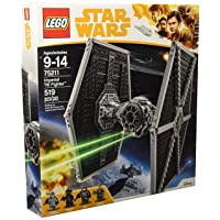 Deals on LEGO Star Wars Imperial TIE Fighter 75211 Building Kit 519 Piece