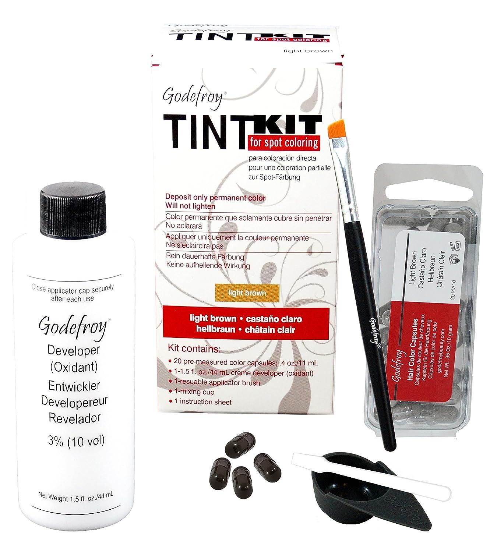 Godefroy Tint Kit, Light Brown, 4.7 Oz GFY203