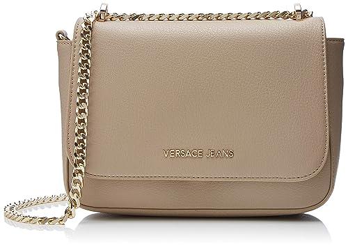 design di qualità 3747c 70588 Versace Jeans Bag Borsa a tracolla Donna, Beige (Legno ...