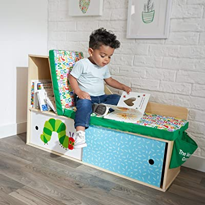 KidKraft World of Eric Carle Caterpillar Corner Bookcase: Toys & Games