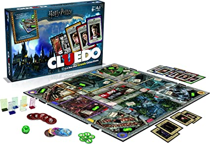 Winning Moves – 0984 – Cluedo Harry Potter – Version Francesa: Amazon.es: Juguetes y juegos