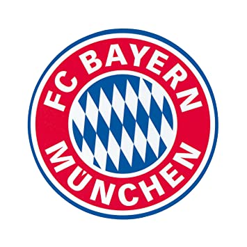 FC BAYERN M/ÜNCHEN Aufkleberkarte Logo