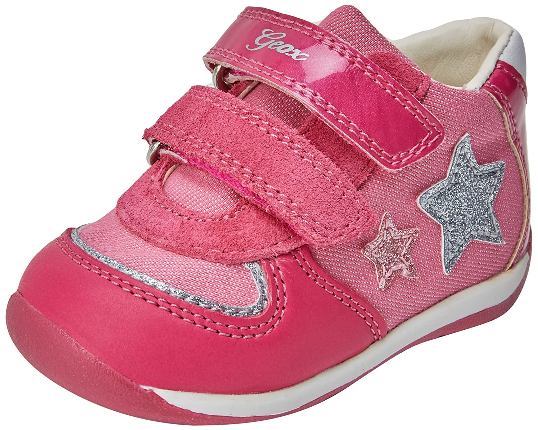 Geox B Each E, Sneakers Basses bébé Fille B820AE0LGHI