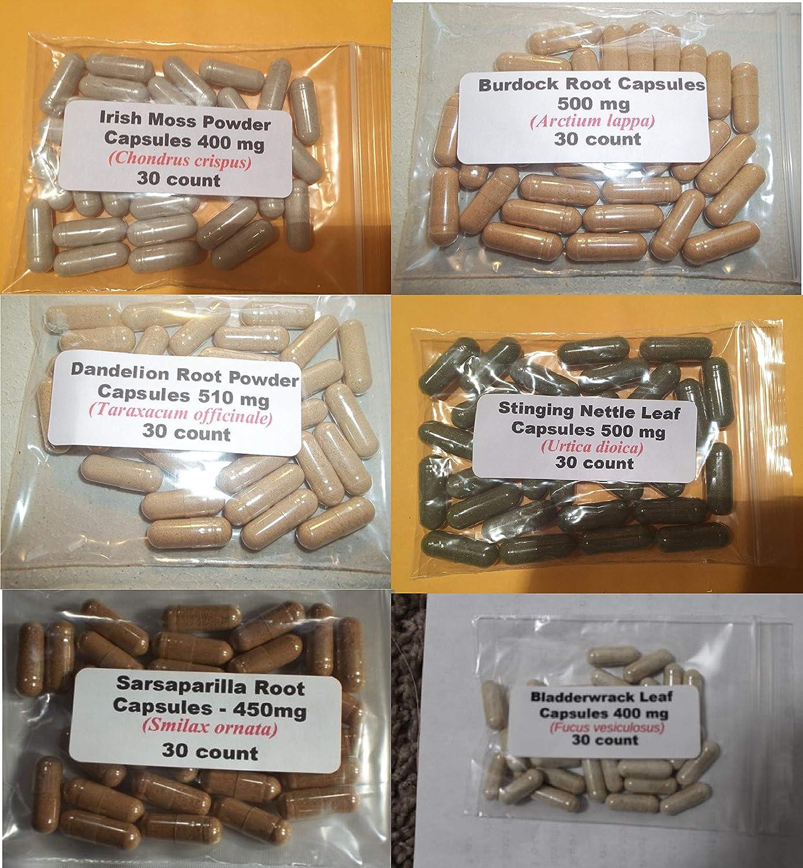Amazon com: Intracellular Detox Cleanse Capsules- (Dr Sebi