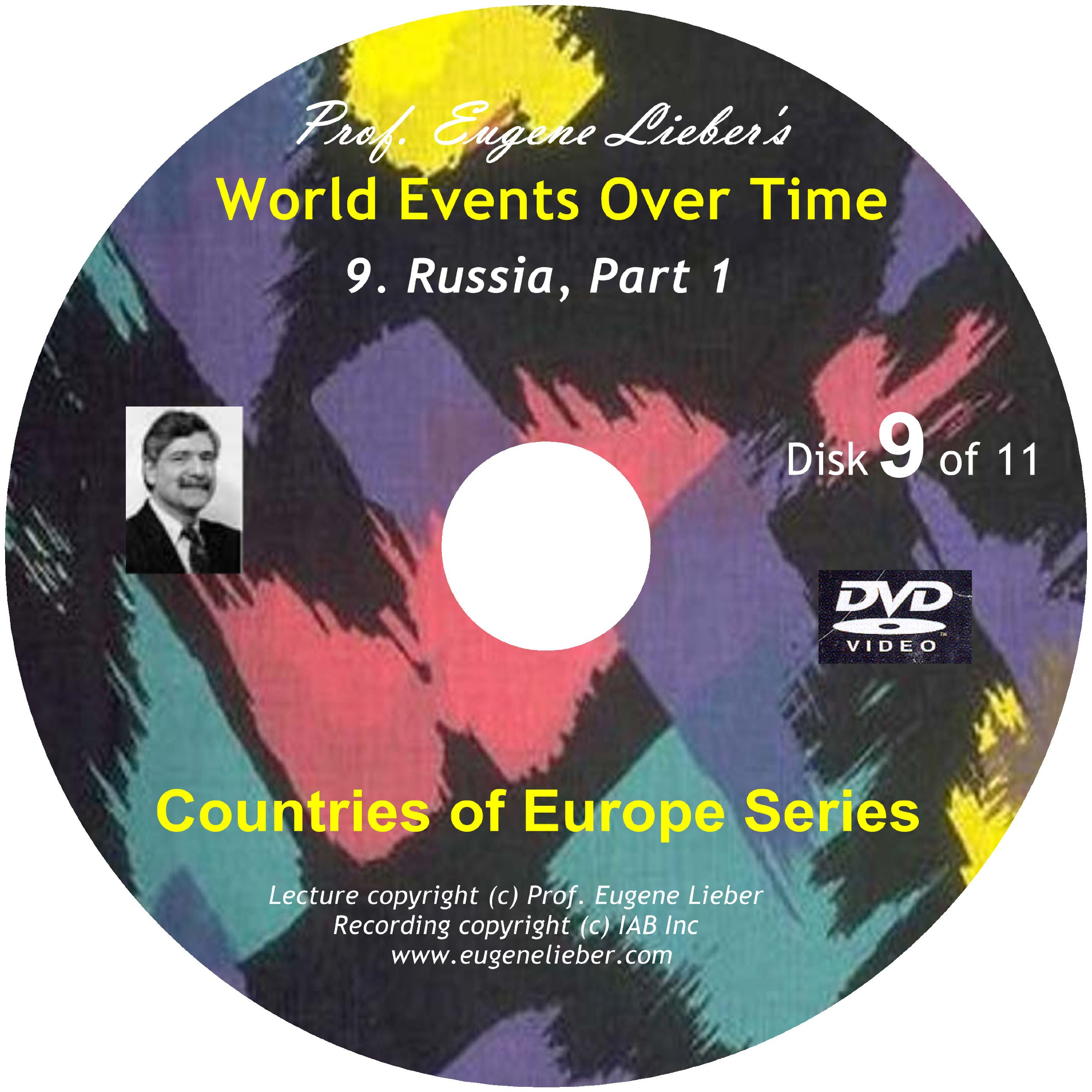 Russia, Parts 1, 2 & 3 (Countries of Europe Series; World Events Over Time Collection) pdf