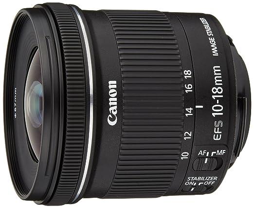 319 opinioni per Canon Obiettivo Ultragrandangolare con Zoom, EF-S 10-18 mm f/4.5-5.6 IS STM,