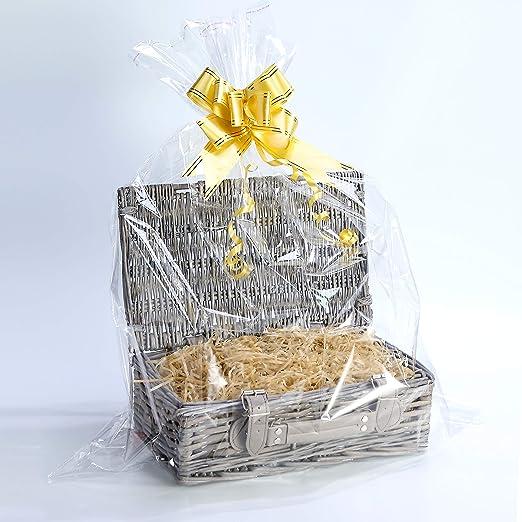 Create Your Own - Cesta de mimbre para regalo de bautizo ...