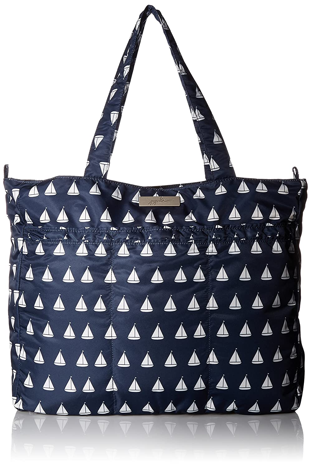 Ju-Ju-Be Coastal Collection Super Be Zippered Tote Diaper Bag Annapolis 16FF02P PAN