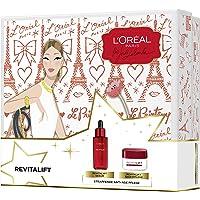 L'Oréal Paris 巴黎欧莱雅复颜美白精华液+复颜日霜亚马逊定制礼盒套装 含透明质酸 保湿护理皱纹 适合紧致肌肤 (1 x 576 g)