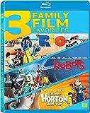 Rio / Robots / Horton Hears a Who Triple Feature [Blu-ray]