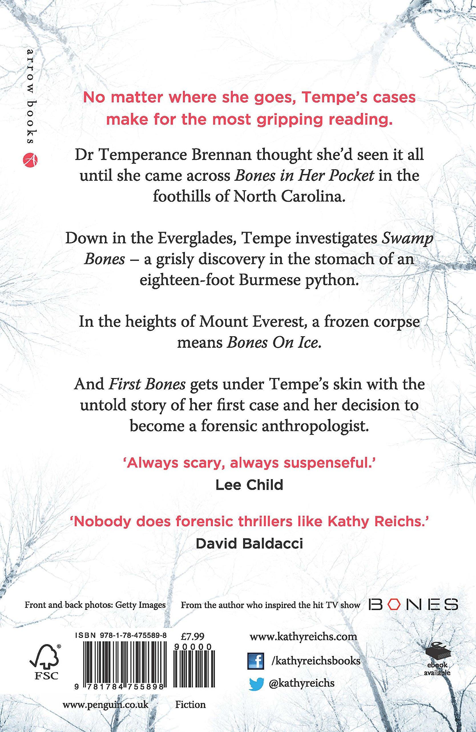 The Bone Collection Four Novellas Temperance Brennan Collection Amazon Co Uk Reichs Kathy 9781784755898 Books