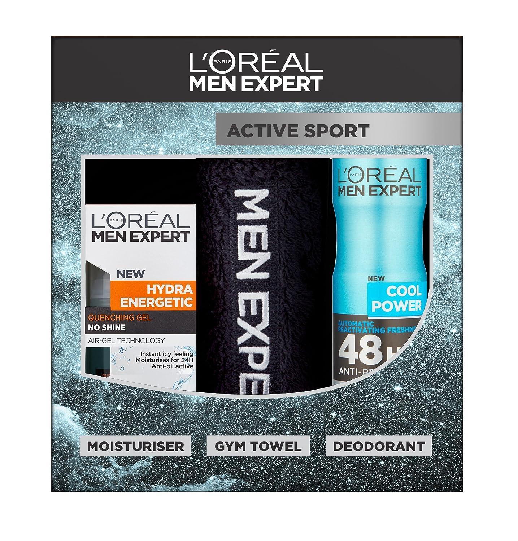 L'Oreal Men Expert Active Sport 3-Piece Gift Set L'Oreal 5011408087543