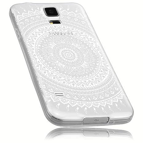 mumbi Schutzhülle Samsung Galaxy S5 / S5 Neo Hülle im Mandala Design