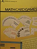 Math Card Games, 5th edition includes CD