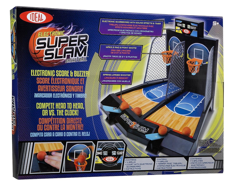 Ideal Electronic Super Slam Baloncesto Juego de Mesa: Amazon.es: Juguetes y juegos