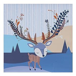 Lolli Living Woods Canvas Art - Deer