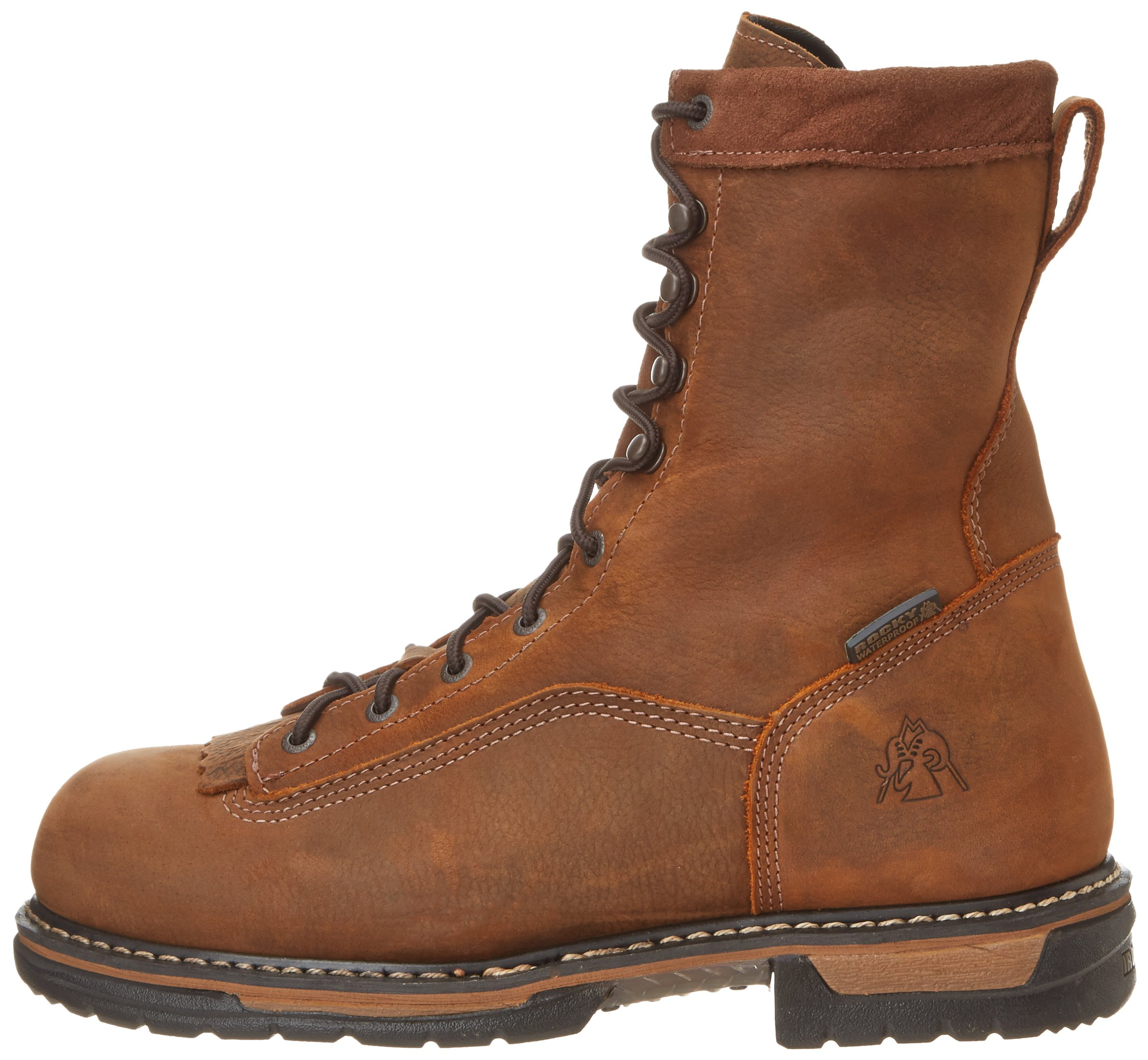 Rocky Men's Iron Clad Eight Inch LTT Steel Toe Work Boot,Brown,13 M US by Rocky (Image #5)