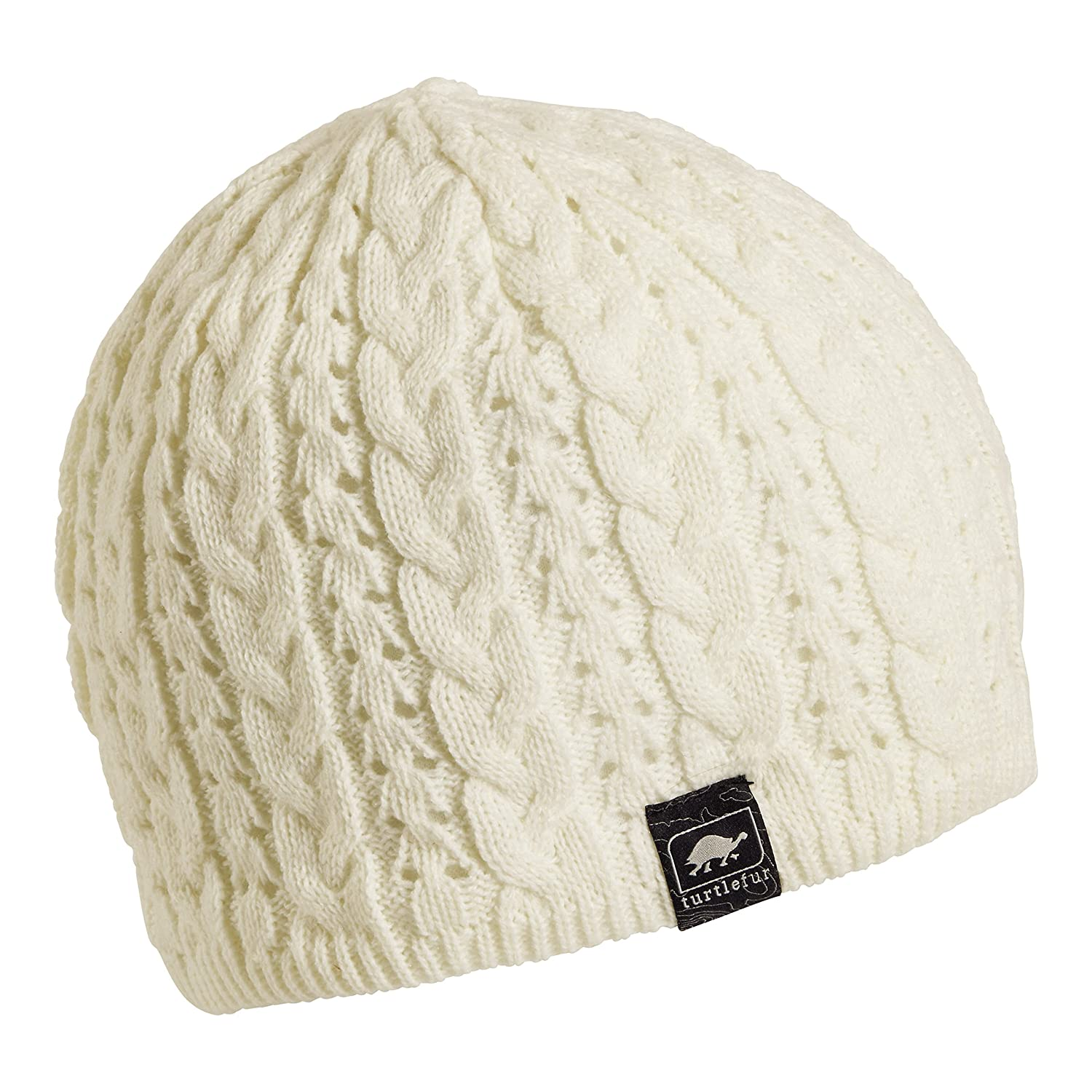 0d6ab51a595 Amazon.com  Turtle Fur Zelda Women s Fleece Lined Knit Winter Hat Ivory  Turtle  Fur  Sports   Outdoors