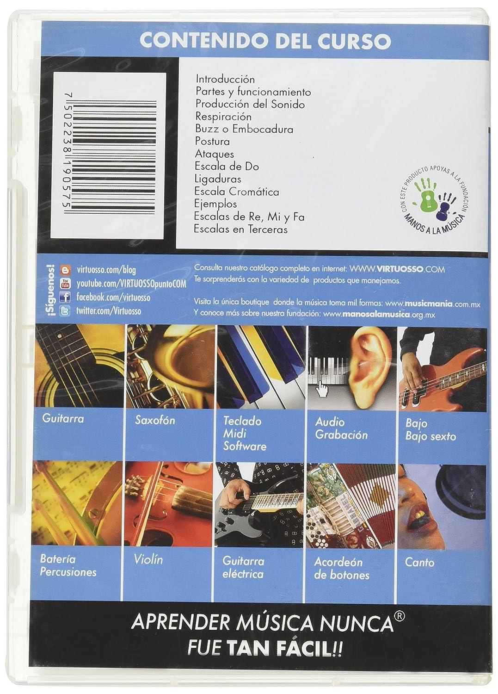 Amazon.com: Virtuosso Trumpet Method Vol.1 (Curso De Trompeta Vol.1) SPANISH ONLY: Musical Instruments