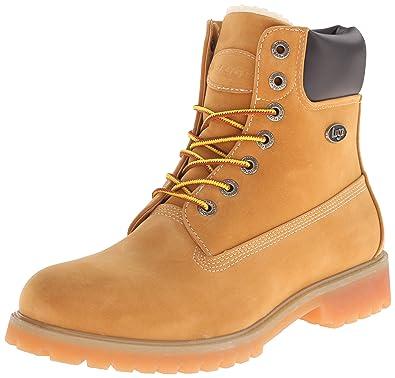 Lugz Men's Convoy Fleece WR Winter Boot, Golden Wheat/Bark/Tan/Gum