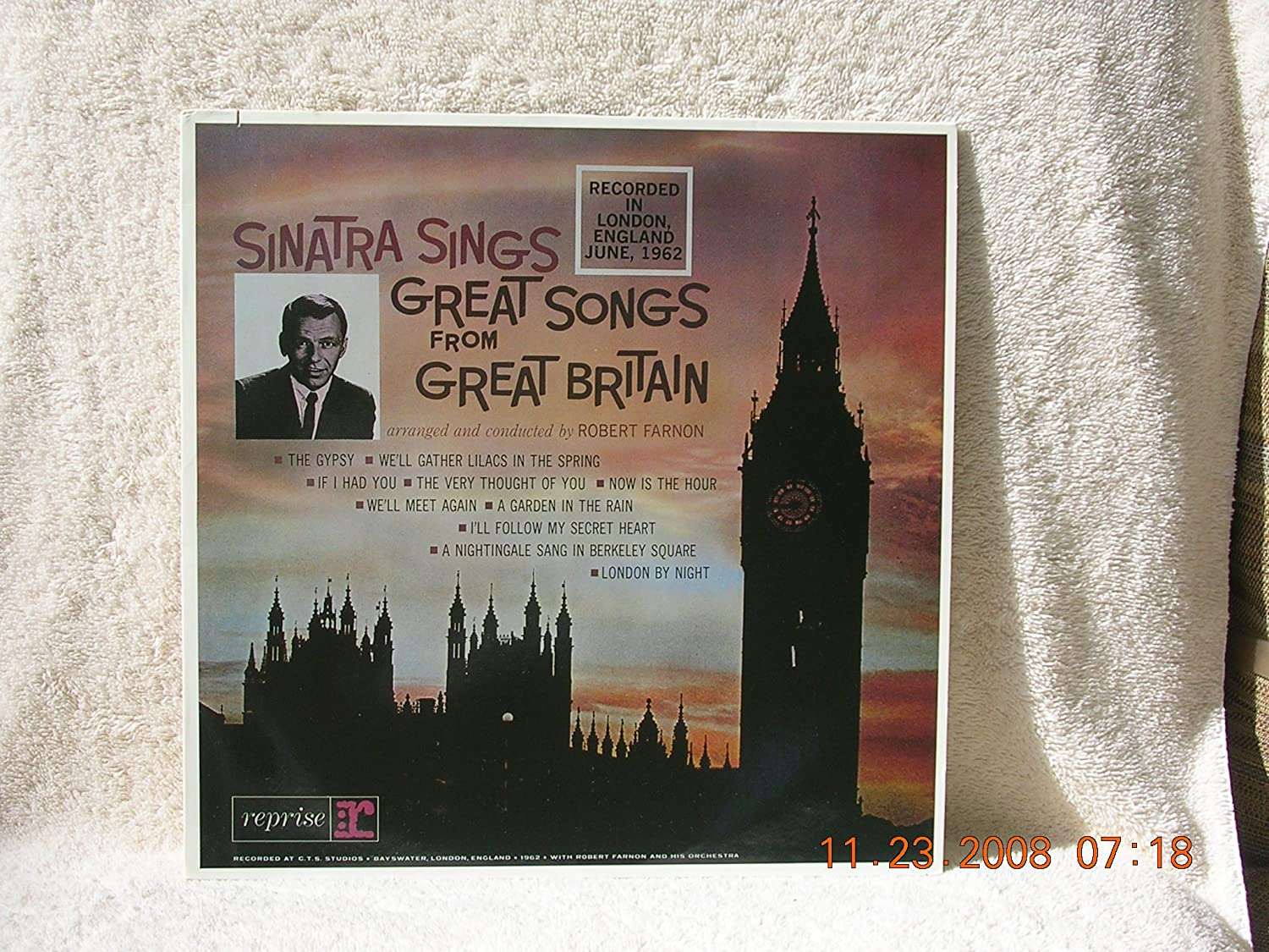 Frank Sinatra   Sinatra Sings Great Songs From Great Britain   Amazon.com  Music