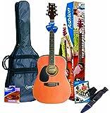 Ashton SPD25LNTM Left-Handed Acoustic Guitar Starter Pack