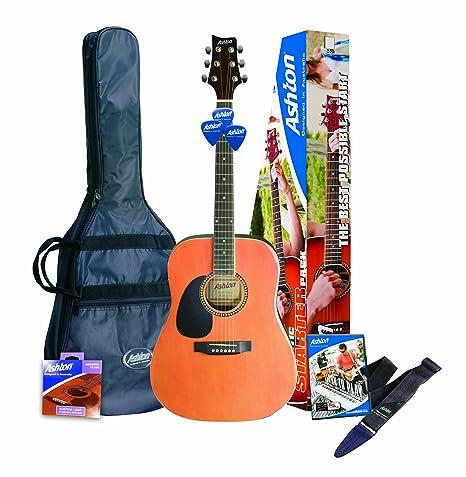 Ashton SPD25LHNTM Guitarra acústica para zurdos - color natural