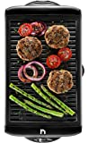 New House Kitchen Electric Smokeless Indoor Grill, Large Non-Stick Cooking Surface, Temperature Control for Smoke-Free…