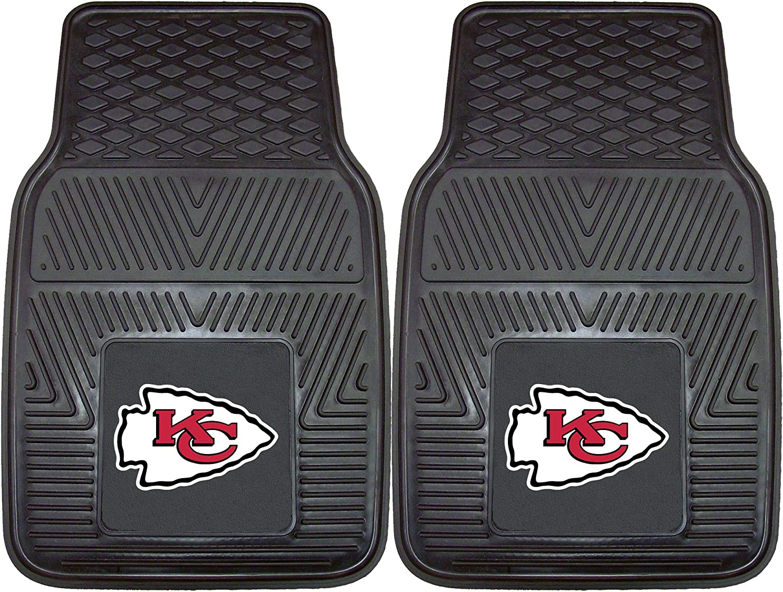 FANMATS NFL Kansas City Chiefs Vinyl Heavy Duty Car Mat