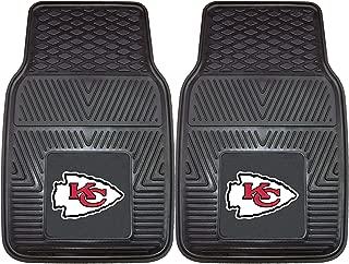 "product image for FANMATS 8899 NFL Kansas City Chiefs Vinyl Heavy Duty Car Mat,18""x27"""