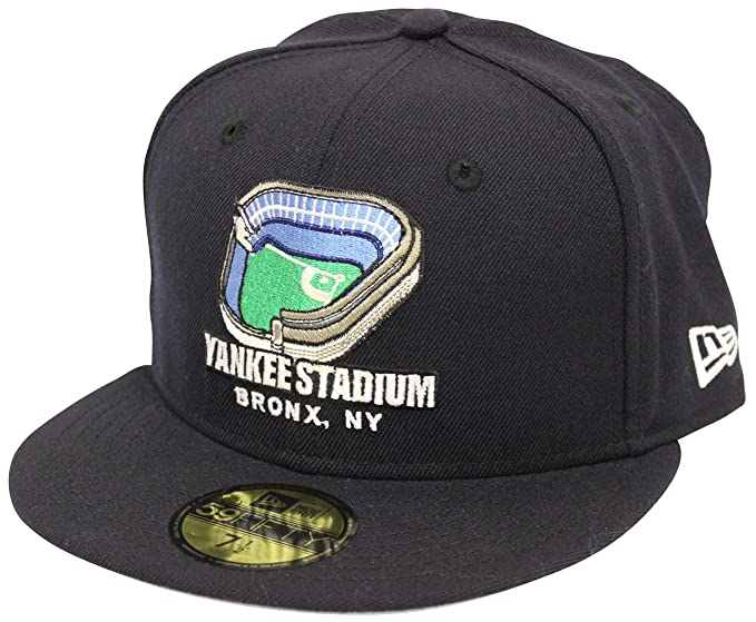feabd080ff0 New Era 59Fifty Yankees Stadium New York Yankees Navy Fitted Cap at ...