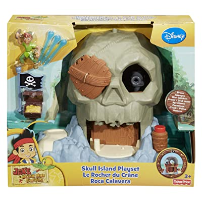 Fisher-Price Disney's Jake and The Never Land Pirates Skull Island: Toys & Games
