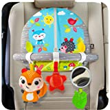 BENBAT Double Sided Car Seat Activity Arch - Baby Toy Activity Center - Toys for Children - Developmental Toys for Babies - B