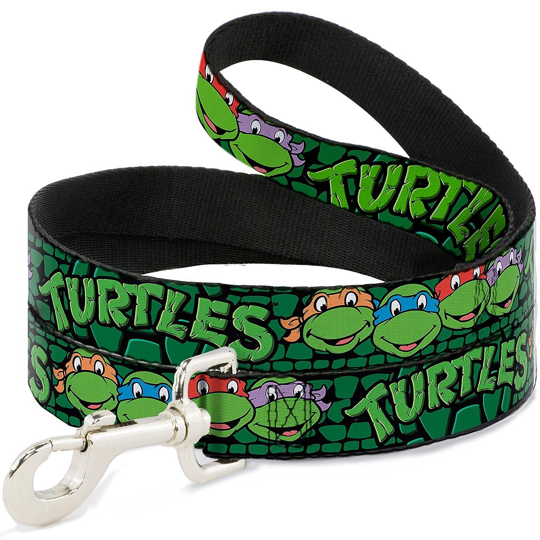 Dog Leash Ninja Turtles Group Faces Turtles Turtle Shell Black