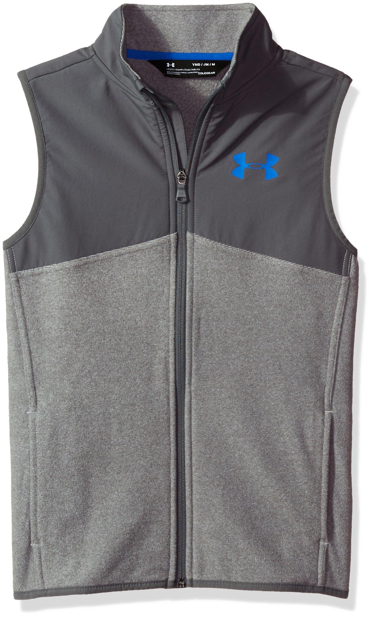 Under Armour Boys' Phenom Vest,Graphite (040)/Ultra Blue, Youth X-Large