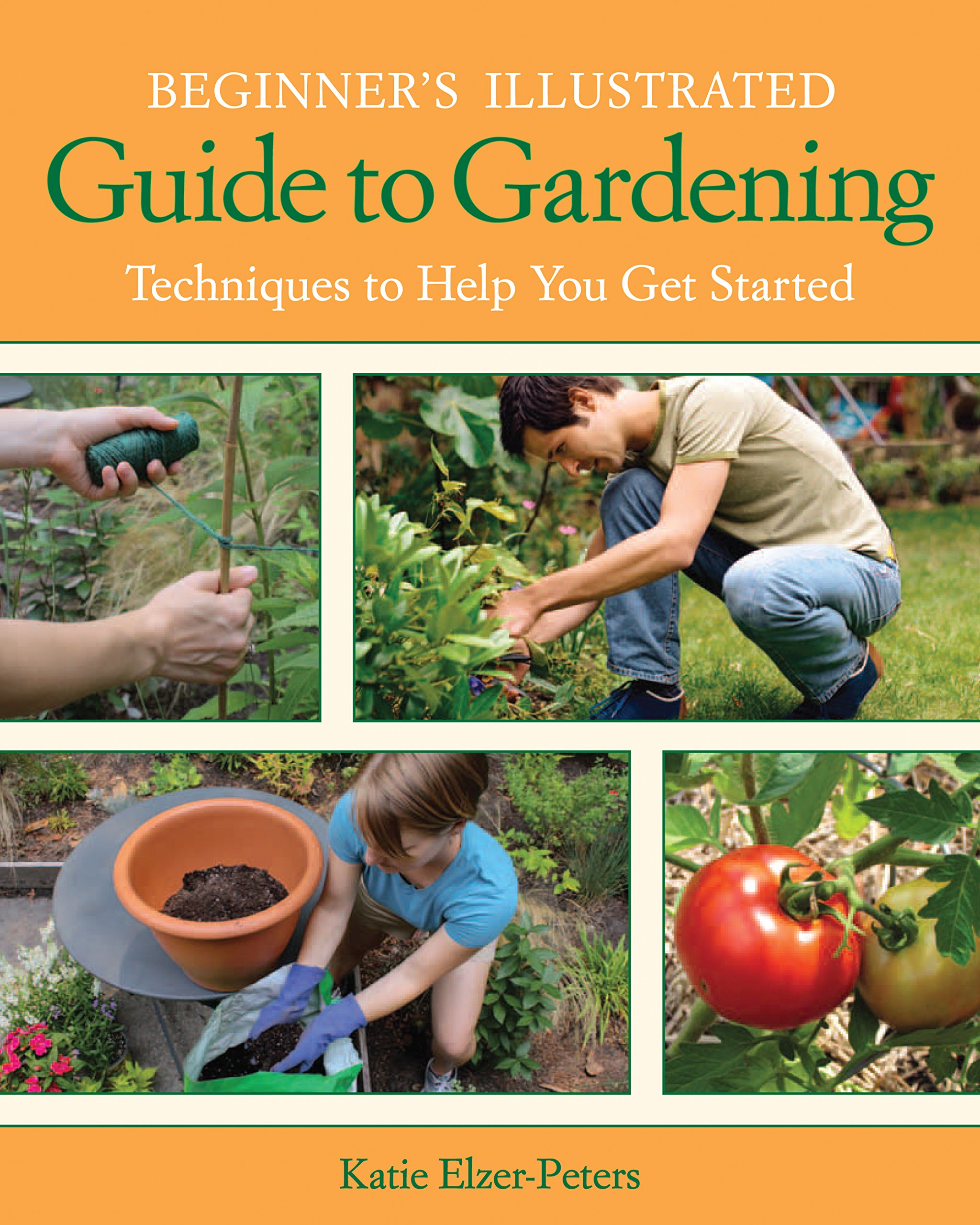 Beginner's Illustrated Guide to Gardening: Techniques to Help You Get Started PDF