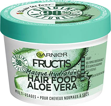 Garnier Fructis Hair Food - Máscara multiusos con aloe, 390 ml ...